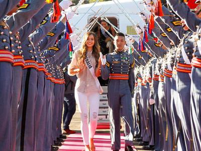 菲律宾这样迎接环球小姐参赛者